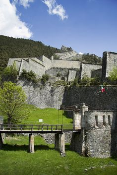 The Fortress of Fenestrelle, Piedmont, Italy