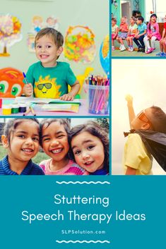 Looking for new ways to help kids who stutter? Look no further! These are our favorite ways to work on stuttering in speech therapy.