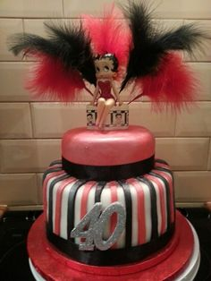 Betty Boop birthday cake