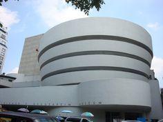 Gugenheim Museum NYC Frank Lloyd Wright