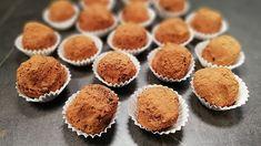 Gaštanové guľky v čokoláde - video Muffin, Breakfast, Food, Muffins, Hoods, Meals, Cupcake, Cup Cakes