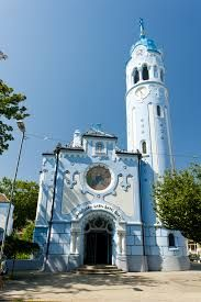 Blue Churche in Bratislava, Slovakia