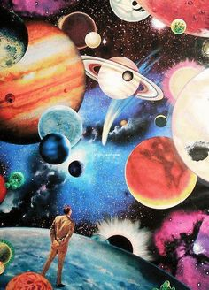 Tumblr Colorful Planets - Pics about space
