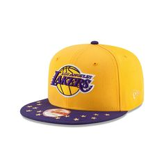 wholesale dealer 68351 f9222 New Era Los Angeles Lakers Star Trim Commemorative Champions Snapback Hat,   32.95