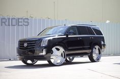 2015 Cadillac Escalade On 30-Inch Forgiato Wheels - Rides Magazine