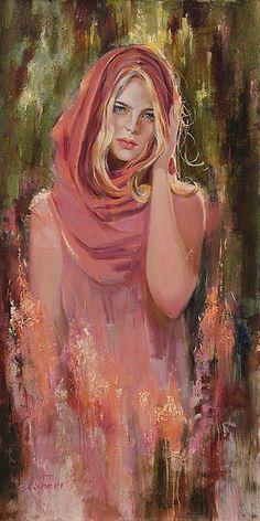 Maria - oil by ©Irene Sheri (via Amour d'Art Fine Art Gallery / flickr)