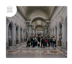 M U S E U M S #essentialplaces  #romecityguide #glocalistmap #travelglobalstaylocal #travel #italia #design #travelmap #friendly #exploringtheglobe #trip #fun #food #culture #shopping #madeinitaly #followme #photography #instagood