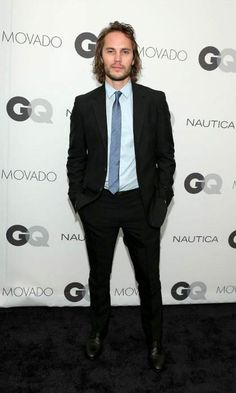 Taylor Kitsch at the GQ Gentlemen's Ball in October 2014...