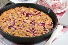 Use your leftover cranberry sauce to make these soft, tender Cranberry Sauce Skillet Scones. They are delicious served with whipped cream and a cup of tea. Canning Cranberry Sauce, Cranberry Chutney, Cranberry Recipes, Ginger Ale, Strudel, Brie, Tart, Canned Cranberries, Halibut