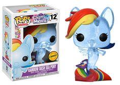 Funko pop. MLP. Rainbow Dash. Sea-pony. Exclusive.