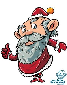 5_FATHER_XMAS Christmas Cartoon Pictures, Christmas Cartoons, Father Xmas, Today Pictures, Freelance Illustrator, Anton, Tigger, Disney Characters, Fictional Characters