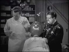 """Buzz teaches Abercrombie how to shave a """"customer"""" at a """"fraction"""" of the price than it would cost him at a proper barber school. Abercrombie fails to shave . Bud Abbott, Whos On First, Barber School, Funny Comedians, Comedy Clips, Comedy Duos, Great Comedies, Abbott And Costello, Music Humor"""