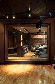 Studio Q1 at Quad Recording Studios, NYC - via SonicScoop.com