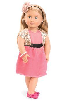 Audra - Our Generation Dolls Ag Dolls, Girl Dolls, Journey Girls, Our Generation Dolls, 18 Inch Doll, Girls Accessories, American Girl, Deco, Flower Girl Dresses