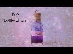 DIY: Poção Mágica Galaxy - Bottle Charm - YouTube