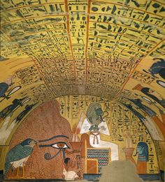 Theban Tomb 3 such as Ramses would have copied