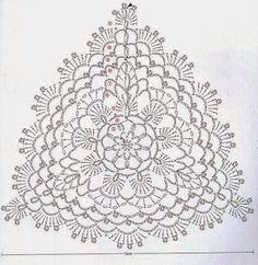 Diy Crafts - Crochet flowers top granny squares 66 Ideas for 2019 Motif Bikini Crochet, Crochet Bra, Crochet Triangle, Crochet Diagram, Crochet Woman, Crochet Chart, Crochet Squares, Thread Crochet, Crochet Doilies
