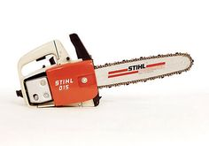 "The Stihl 015, for the light duty loggers of backyard suburbia! Well...it's still a Stihl, not much ""light-duty"" about Stihl!"