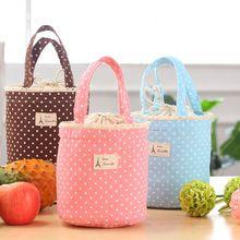 5 moda Lancheira almoço caixa térmica saco térmico almoço de Bento Bolsa de piquenique Bolsa Termica New(China (Mainland))