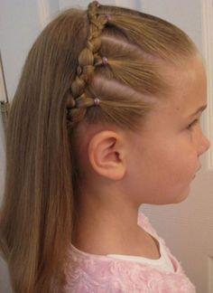 penteados simples passo a passo - Pesquisa Google