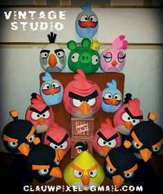 Angry Birds by clauwpixel@gmail.com