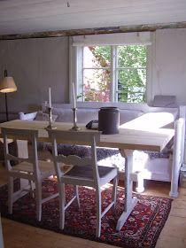 Elins Stuga: Min bror och svägerska bjuder in oss i sitt torp Blogg, Finland, Dining Table, House, Furniture, Home Decor, Decoration Home, Home, Room Decor