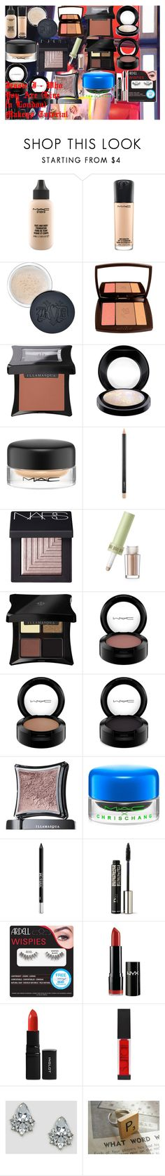 Jessie J - Who You Are (Live in London) Makeup Tutorial by oroartye-1 on Polyvore featuring beauty, Lancôme, MAC Cosmetics, Illamasqua, Christian Dior, Surratt, NARS Cosmetics, Kat Von D, Urban Decay and Inglot