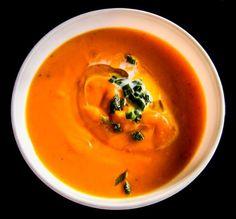 Healthy Coconut Oil Pumpkin Soup by francis