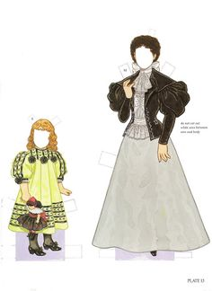 Paper Dolls~Childrens Fashions From Harper - Bonnie Jones - Álbumes web de Picasa