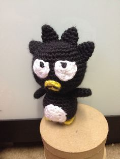"Badtz Maru Doll Free Amigurumi Pattern - PDF File, click ""download"" or "" free Ravelry download"" here: http://www.ravelry.com/patterns/library/crochet-badtz-maru-doll-toy"