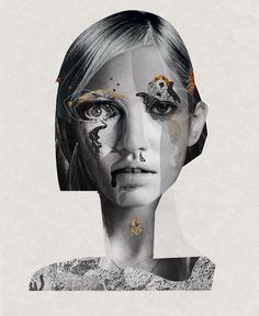 Gold C. I by Żaneta Antosik, via Behance