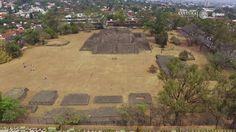 El México antiguo en las ciudades. Zona Arqueológica de Teopanzolco, Cue...