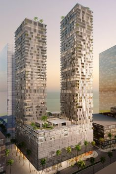 Bahrain Bay Tower in Mañana by Wiel Arets Architects