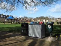 Image: The new Mini On-Street Recycling Bin