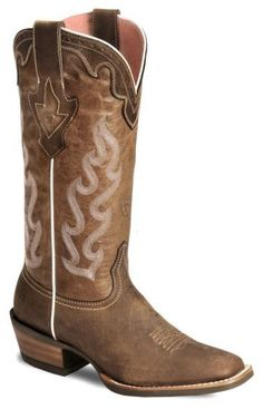 Ariat Crossfire Caliente Cowgirl Boot - Wide Square Toe - Sheplers