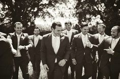 Groom | Groomsmen #bohowedding #nashvillewedding #rusticwedding #groom #groomsmen #greysuit