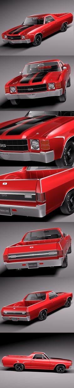 Chevrolet el Camino 1971