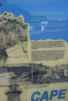 Tauranga Bay - Information Board Information Board, New Zealand, Cape, River, Mantle, Cabo, Info Board, Coats, Rivers