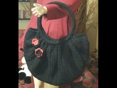 "Tutorial borsa all'uncinetto ""Fat bottom bag"" - crochet fat bottom bag - bolsa en crochet - YouTube"