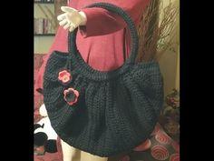 """Tutorial borsa all'uncinetto """"Fat bottom bag"""" - crochet fat bottom bag -..."""