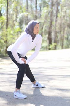 Sport Outfit Women Gym 15 New Ideas Muslim Fashion, Modest Fashion, Hijab Fashion, Girl Fashion, Trendy Fashion, Hijab Sport, Sports Hijab, Girl Hijab, Hijab Outfit
