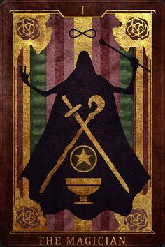 The Magician Tarot by Duncan Burris