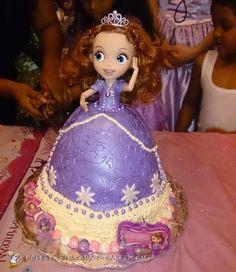 Sweetest Princess Sophia Birthday Cake... Coolest Birthday Cake Ideas