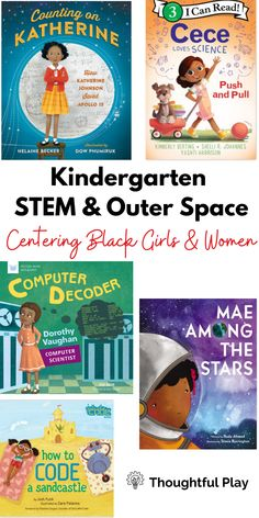 At Thoughtful Play, we believe Black History is U.S. History and World History, so we strive to incorporate Black History throughout the year. These are some of the books we include in our lessons! Enjoy! They truly are fabulous books! P.S. We have a week of free Black History lessons to get you started - sign up on our website! #blackhistory #stem #thoughtfulplay Space Activities, Steam Activities, Kindergarten Stem, Katherine Johnson, Stem Steam, Free Black, World History, Second Grade, Black History