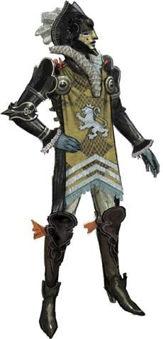 Chevalier - Dragon Age (tabletop RPG) concept art