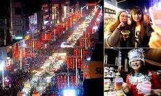 MORE OF EVERYTHING: Shenyang night market in China, the largest of its kind in Asia