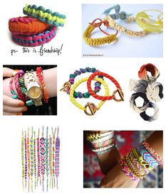 Fun Friendship Bracelets! Perfect for Summer Crafting with Girls