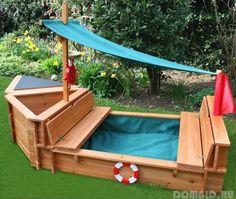 Vyrábame pieskovisko v záhrade, možnosti pieskovisko , ako vytvoriť pieskovisko s rukami - Home Advices