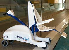 BluPool Mobile Pool Lift - Dolphin Mobility Hoists