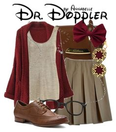 """""""Dr. Doppler"""" by annabelle-95 ❤ liked on Polyvore featuring Burberry, René Lezard, Blu Bijoux, Nicole and House of Harlow 1960"""